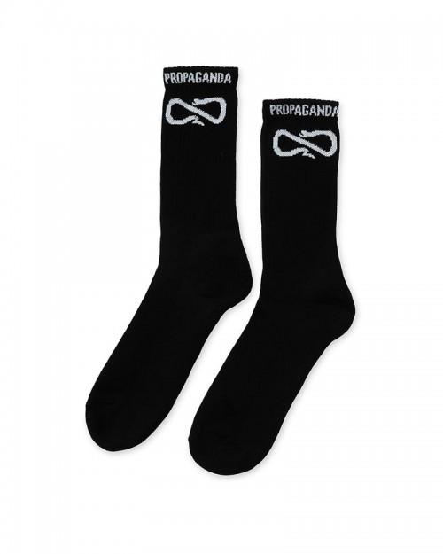 PROPAGANDA Classic Socks Black