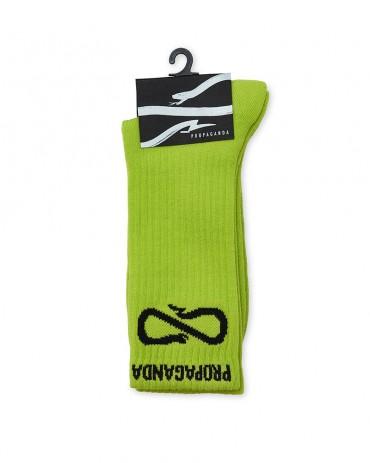 PROPAGANDA Classic Socks Lime
