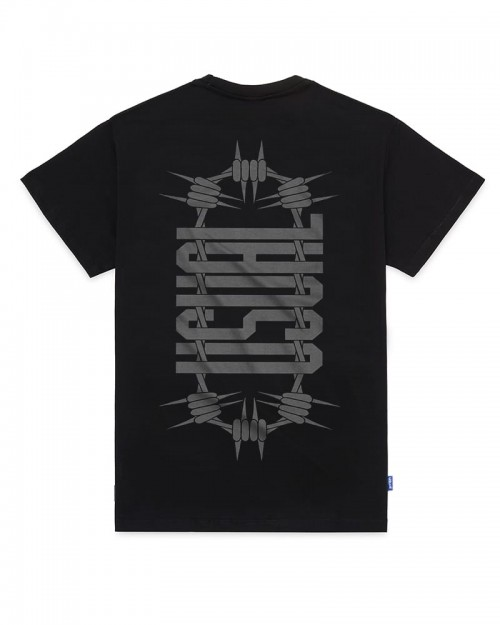 USUAL Double U-Tshirt Black