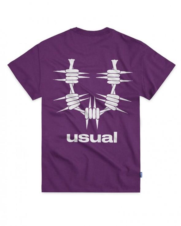 USUAL OG T-shirt Purple