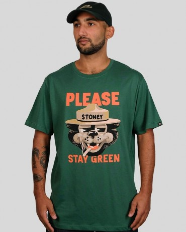 THE DUDES Stay Green Tee