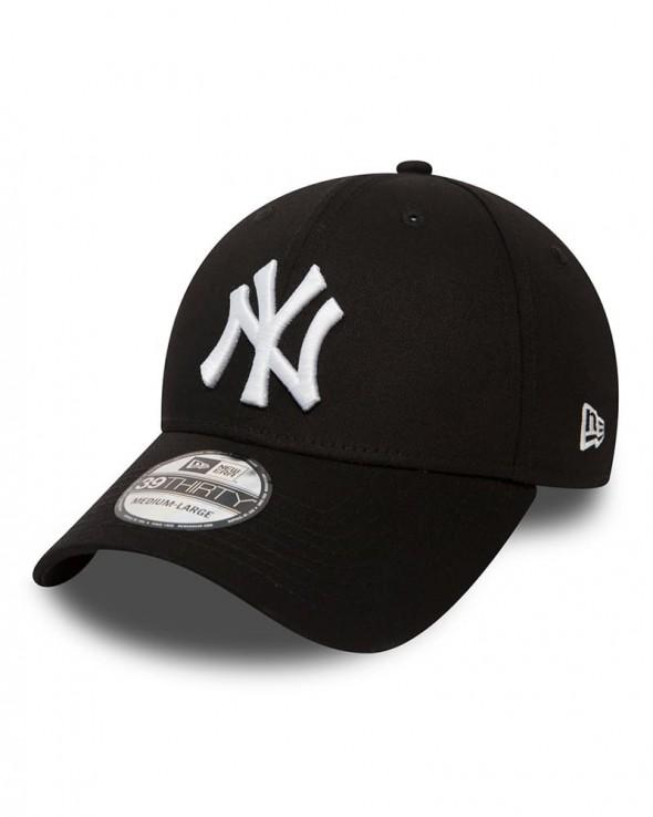 NEW ERA 39THIRTY New York Yankees Black and White