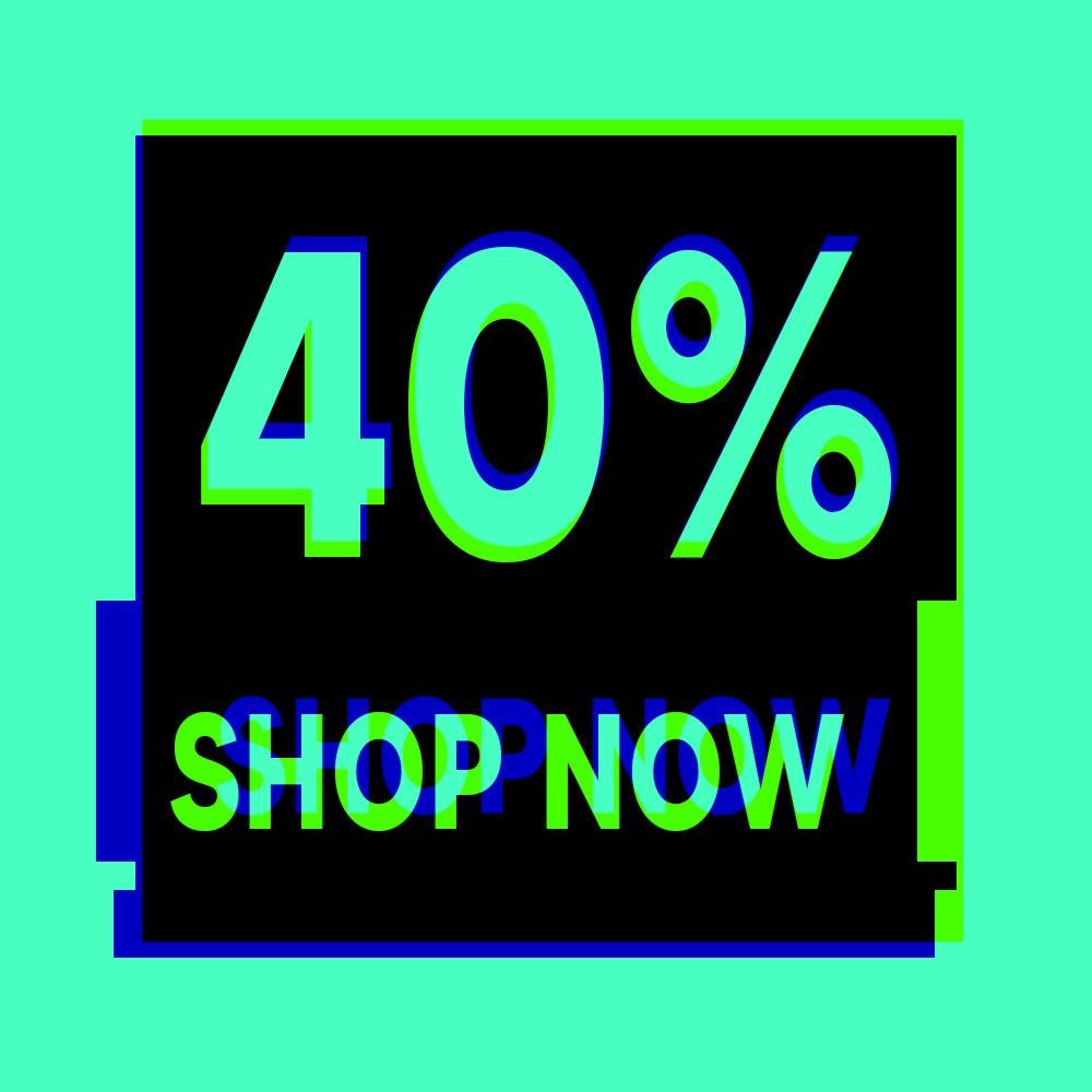 Sconto 40%